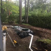 Septic Tank with both hookups